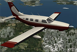 Piper Malibu in XP11.