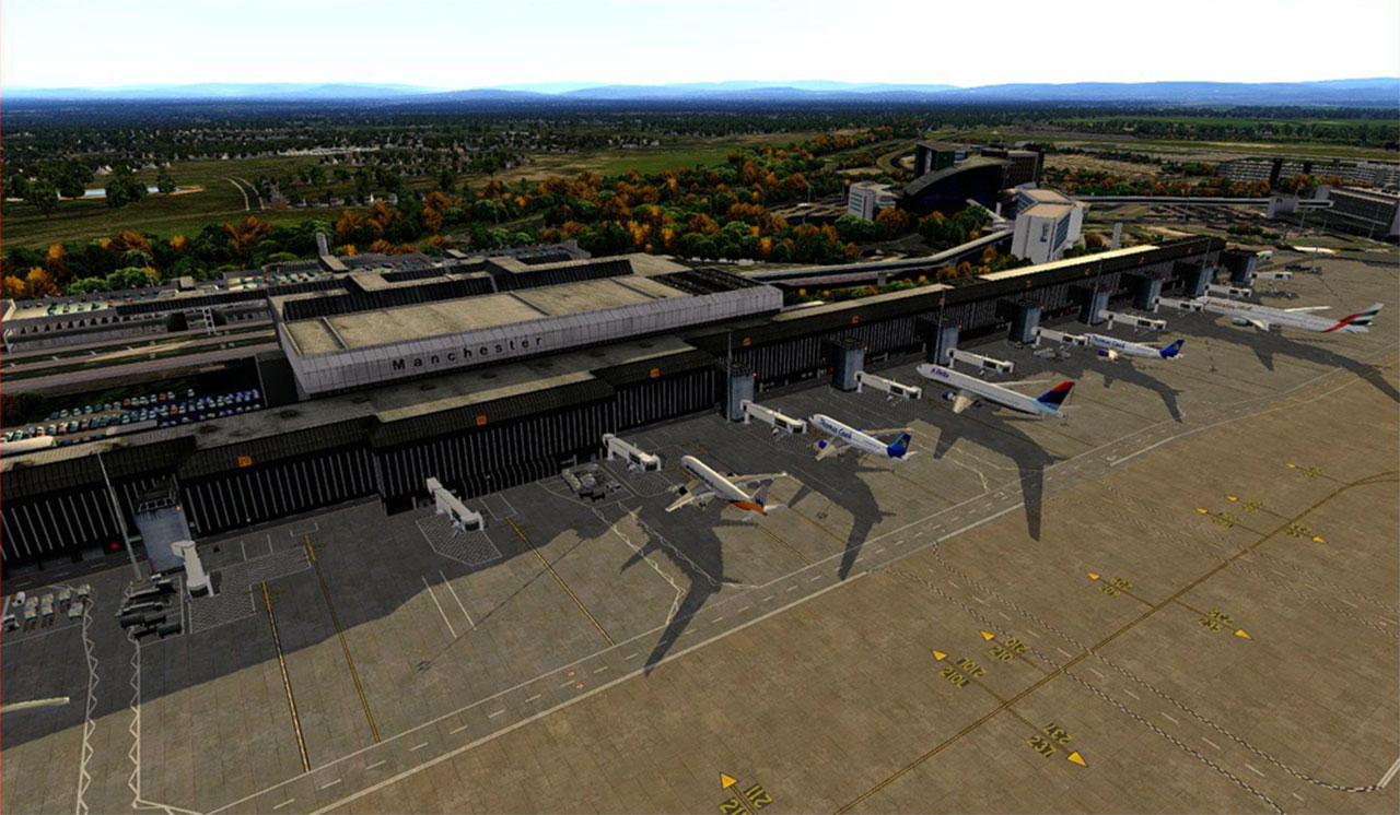 Aerosoft Manchester Airport for X-Plane Released