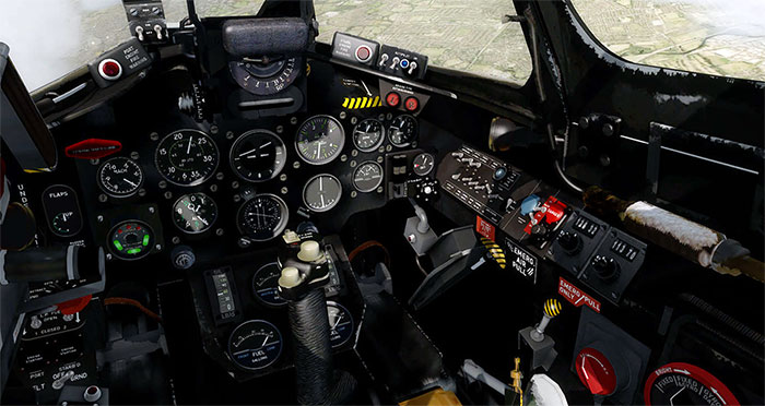 The add-on includes a highly detailed 3D virtual cockpit.