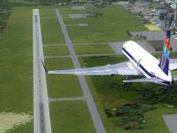 Aircraft landing at MHLM