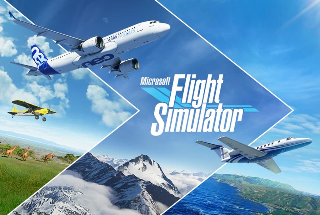 Official Microsoft Flight Simulator Release Artwork.