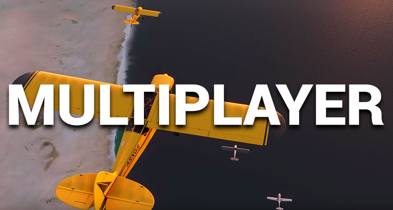 Multiplayer cover MSFS.