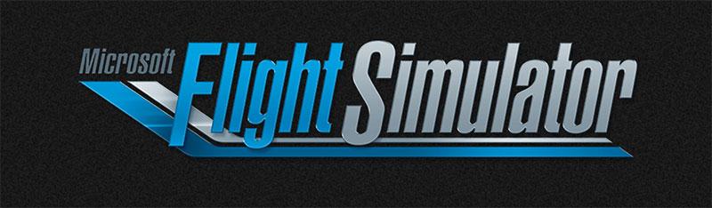 Microsoft Flight Simulator 2020 logo.