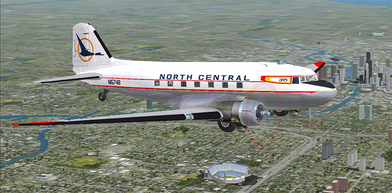 North Central DC-3