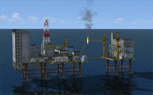 Oil Rig Rescue Mission