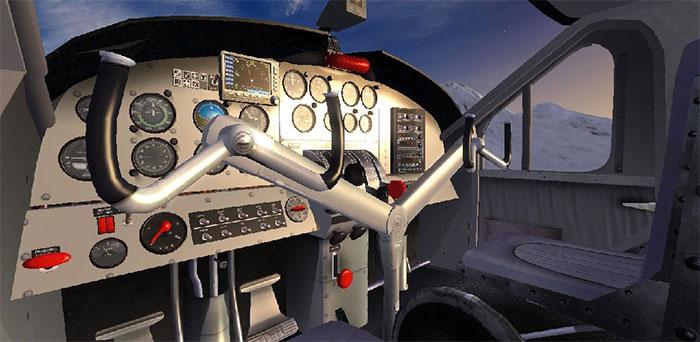 Otter's Virtual Cockpit in FSX