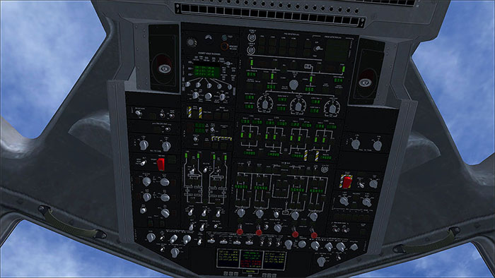 The 3D overhead panel.