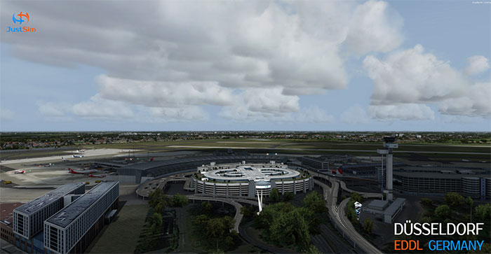 Overview of the airfield/airport.