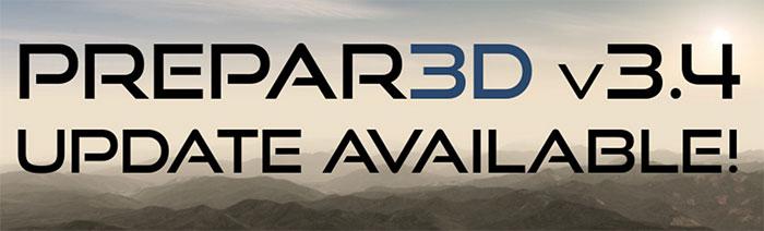 Prepar3D v3.4 Update
