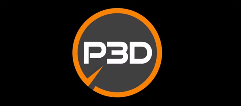 Official P3Dv5 logo (also compatible with P3Dv4).