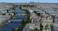 Paris scenery for FSX (screenshot)