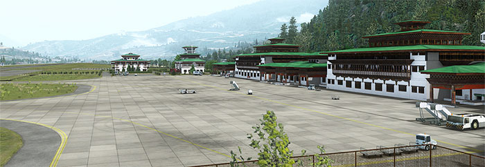 Ramps on airfield