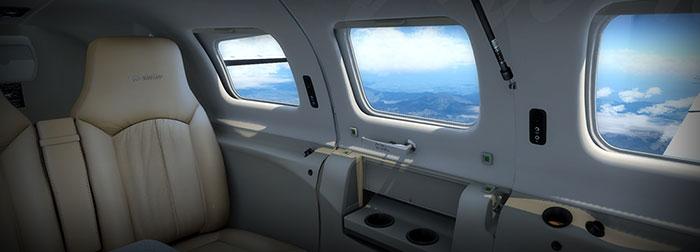 Passenger cabin.