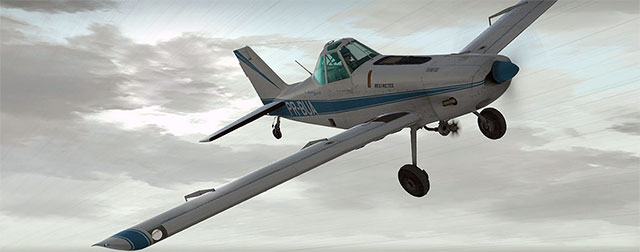 Alabeo's PA-36 in flight
