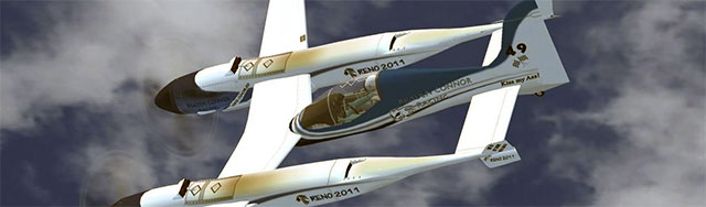 Burt Rutan's Pond Racer in FSX