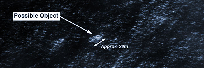 Possible satellite sighting of MH370