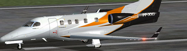 Embraer Phenom 300 PP-XVJ in FSX