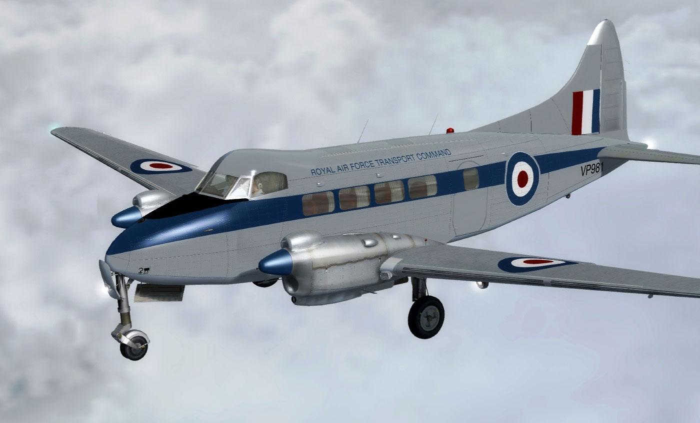 De Havilland Dh 104 Dove And Devon Review Fsx P3d