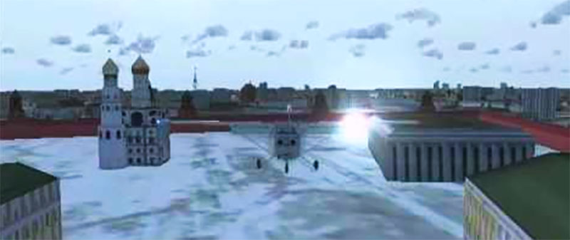 Red Square in FSX.