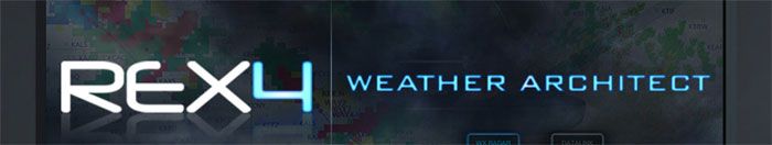 REX4 Weather Architect logo