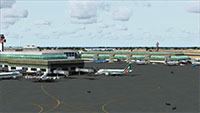 Fiumicino International Airport Scenery