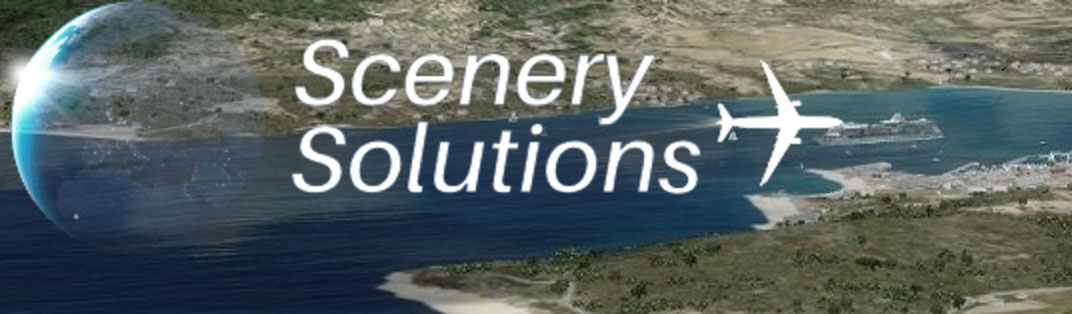 Scenery Solutions logo.