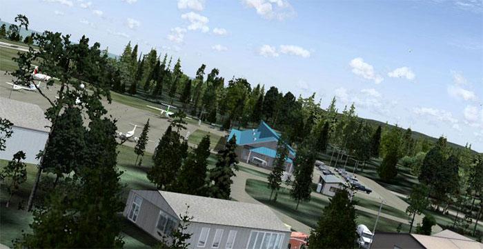 Sandspit airfield