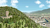 3D view of the Black Forest.