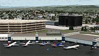 Terminal building at SEA-TAC