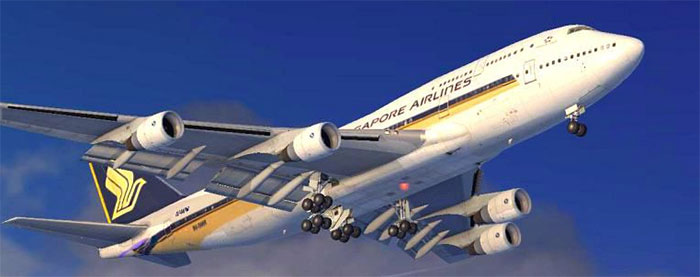 Singapore Airlines B747