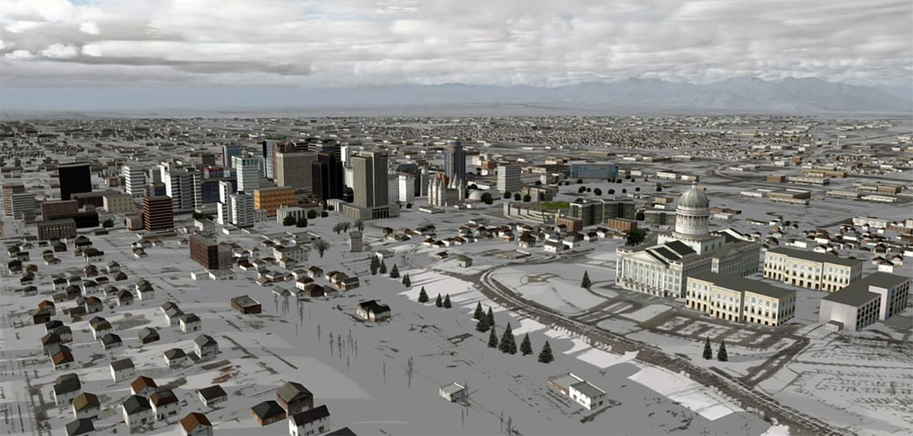 PacSim Release Salt Lake City International Scenery for FSX/P3D