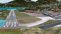 The Scenery in FSX.