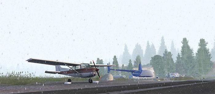 Snowfall with the addon