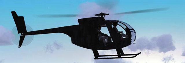 160 SOAR Little Bird in flight.