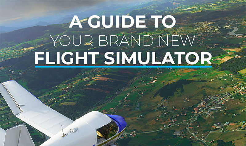 SoFly cover artwork for flight sim guide book Microsoft Flight Simulator (2020).