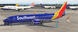 Southwest 737 in XP11.