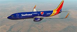 Southwest Cargo in XP11.