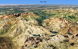 Screenshot using SpainUSD scenery in X-Plane 11.