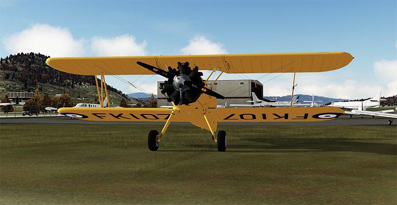 The Boeing-Stearman Model 75 add-on in P3Dv5.