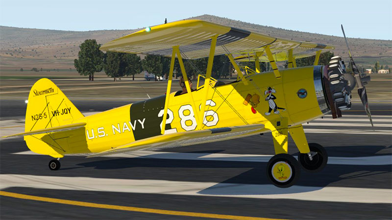 Stearman in XP11.