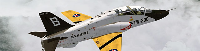 Dino's US Marines T-45 Goshawk in FSX