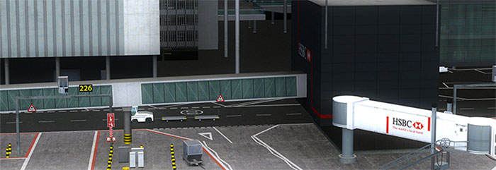 Terminal and jetway
