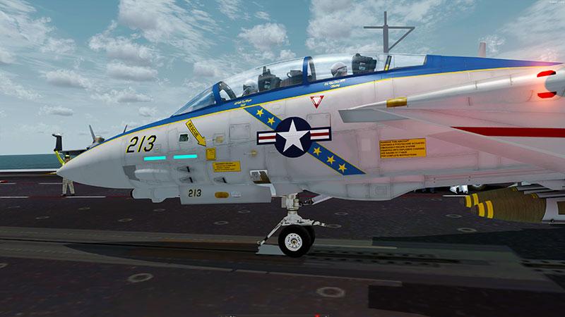 Tomcat in FSX: Steam Edition and P3Dv4.
