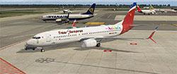 Trans-European 737 in XP11.