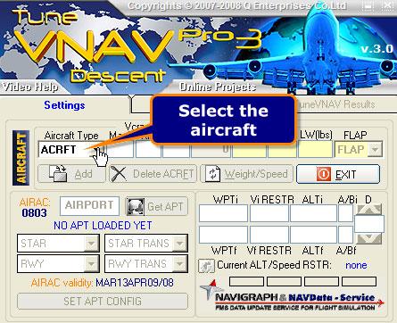 Tune VNAC Descent screenshot