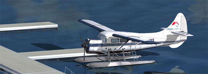 DHC3 Otter seaplane