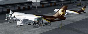 UPS 747 Freighter in Prepar3D v5.
