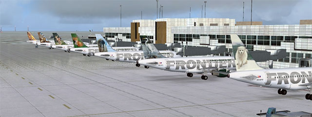 Frontier 737 AI Traffic