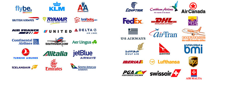 Airline logos - what one will you choose?