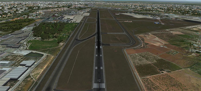 Image showing runway and taxiways